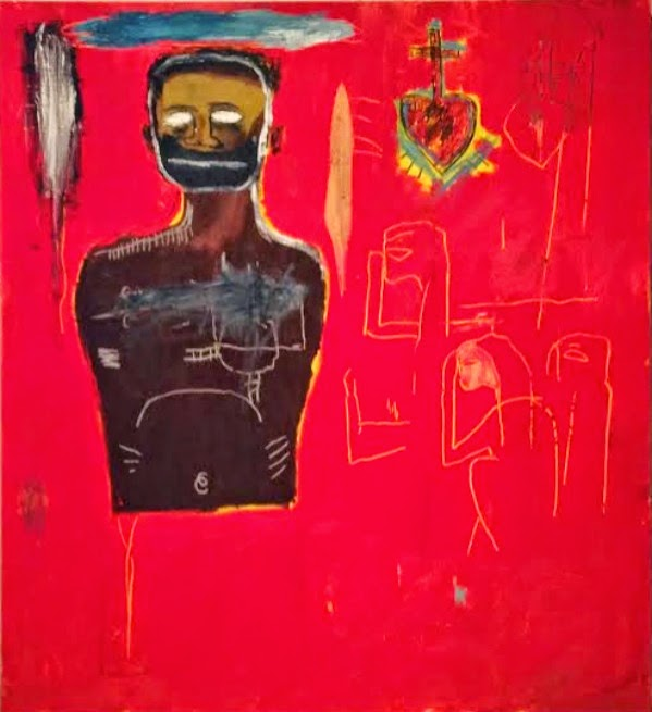 Untitled (Cadmium), 1984 by Jean-Michel Basquiat, Ogden Museum of Southern Art New Orleans