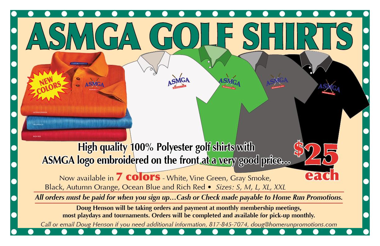 ASMGA Shirts