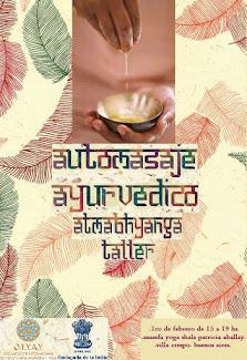 TALLER DE ATMABHYANGA: AUTOMASAJE AYURVÉDICO