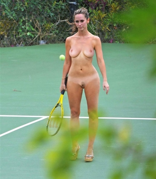 Jennifer Love Hewitt Nude Tennis