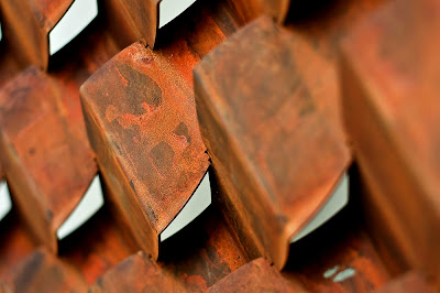 Lump Corten Steel Interclad