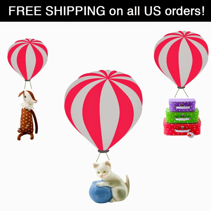 Free shipping in the US // Sunday in color blog
