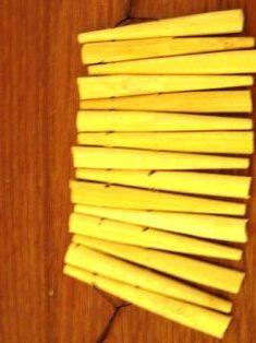 Cara Membuat Gelang dari Sumpit Bambu