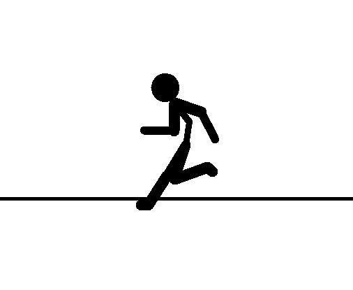 gambar sketsa orang lari - 28 images - gerakan dasar atletik gerakan dasar berjalan berlari ...