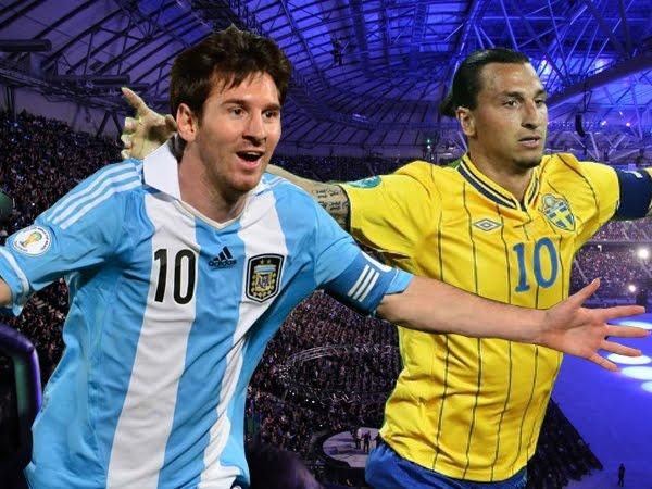 InfoDeportiva - Informacion al instante. REPETICION SELECCIONES SUECIA VS ARGENTINA. Goles, Resultados, Estadisticas, Online