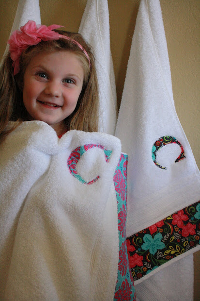 Personalized Bath Towels