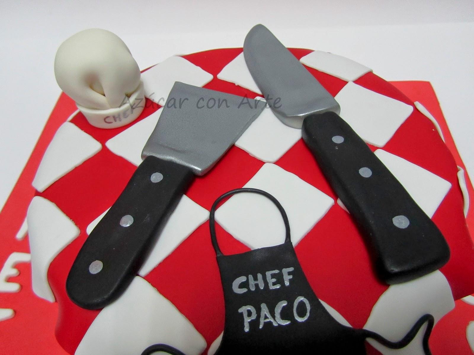 chef cake | azúcar con arte