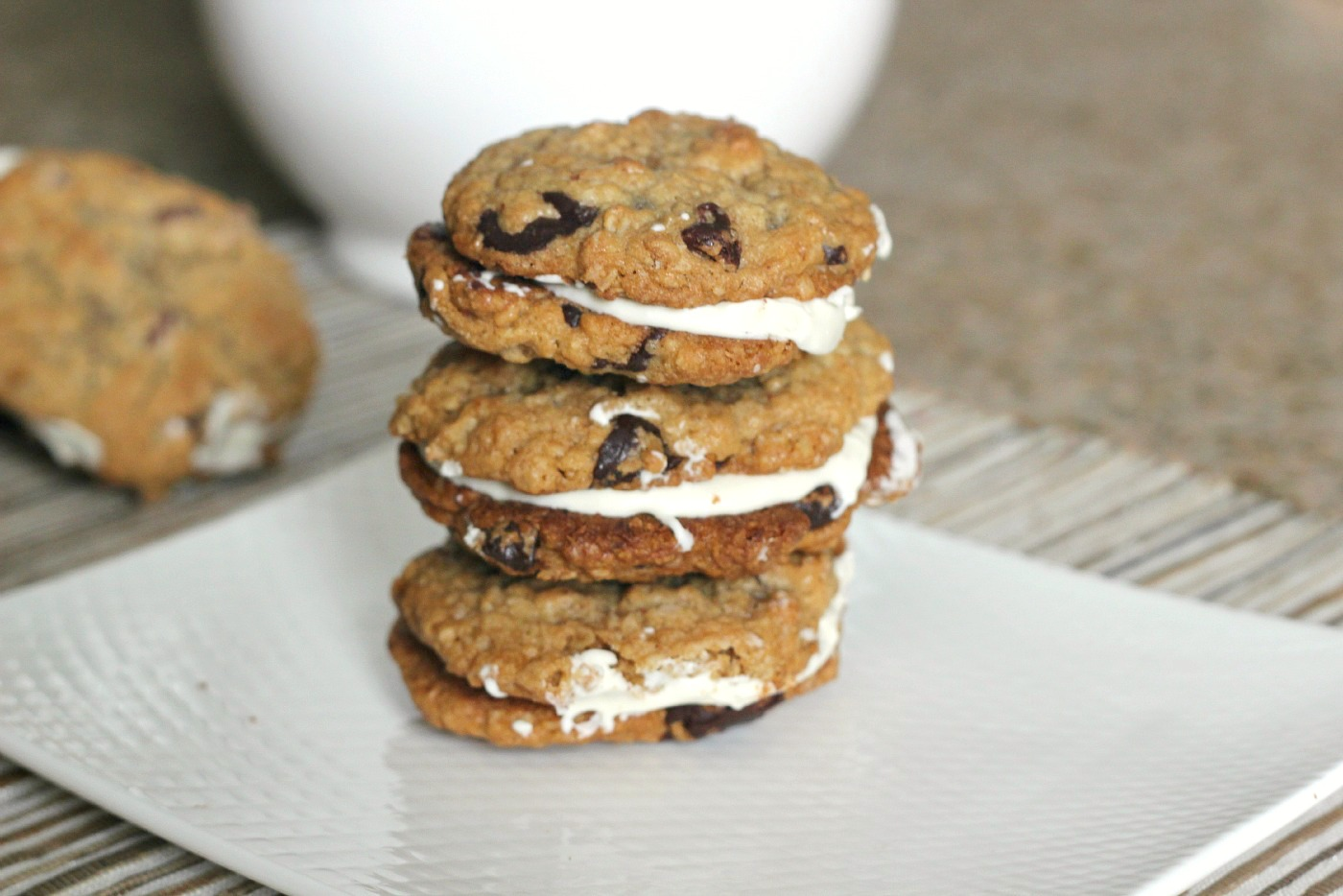 When I Was Much Much Younger And Had The Metabolism Of A Cheetah I Would Always Get One Of The Stuffed Double Chocolate Chip Cookies From Great American