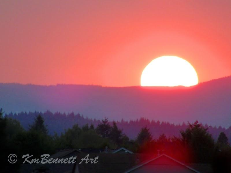 Sunset KmBennettArt