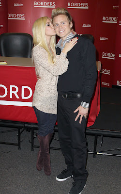 Heidi Montag with Husband