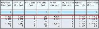 STAD output fields