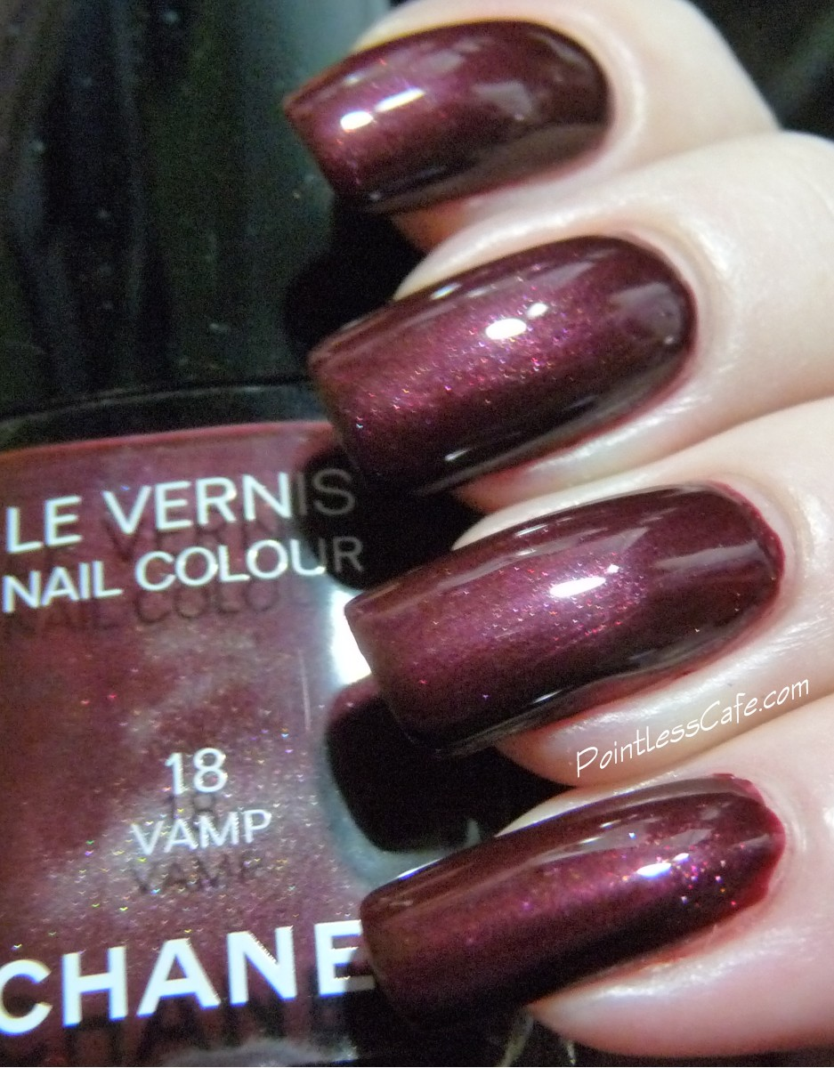 Chanel 18 Vamp And 18 Rouge Noir Pointless Cafe