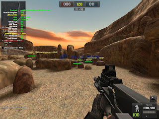 Cheat Point Blank Garena D3D Menu 27 November 2015