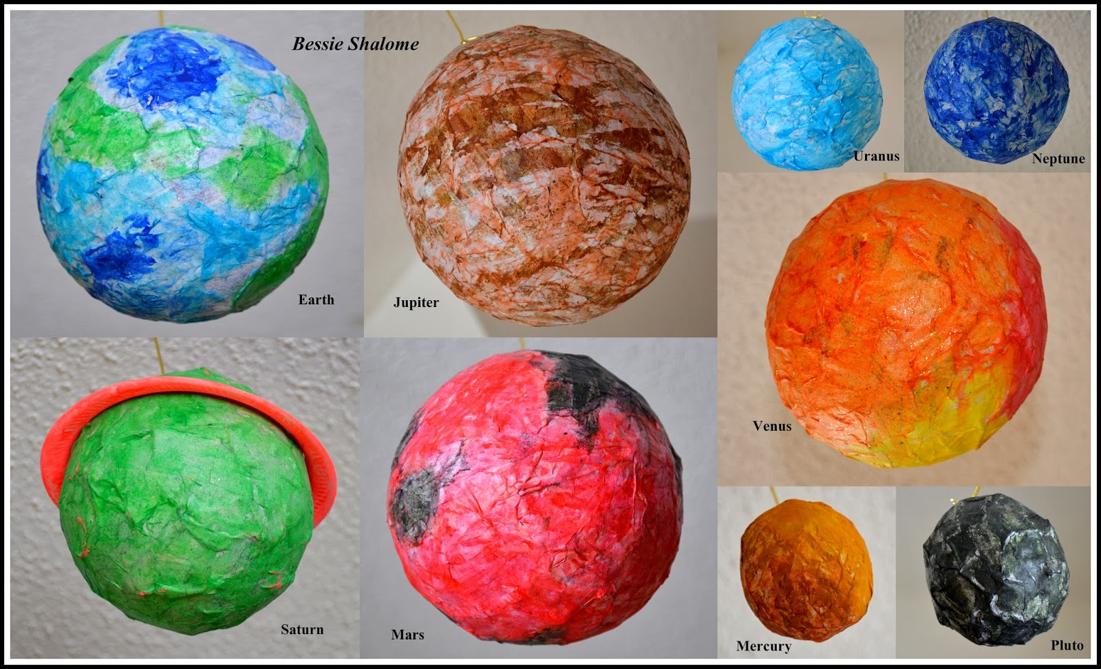 paper mache planet venus - photo #13