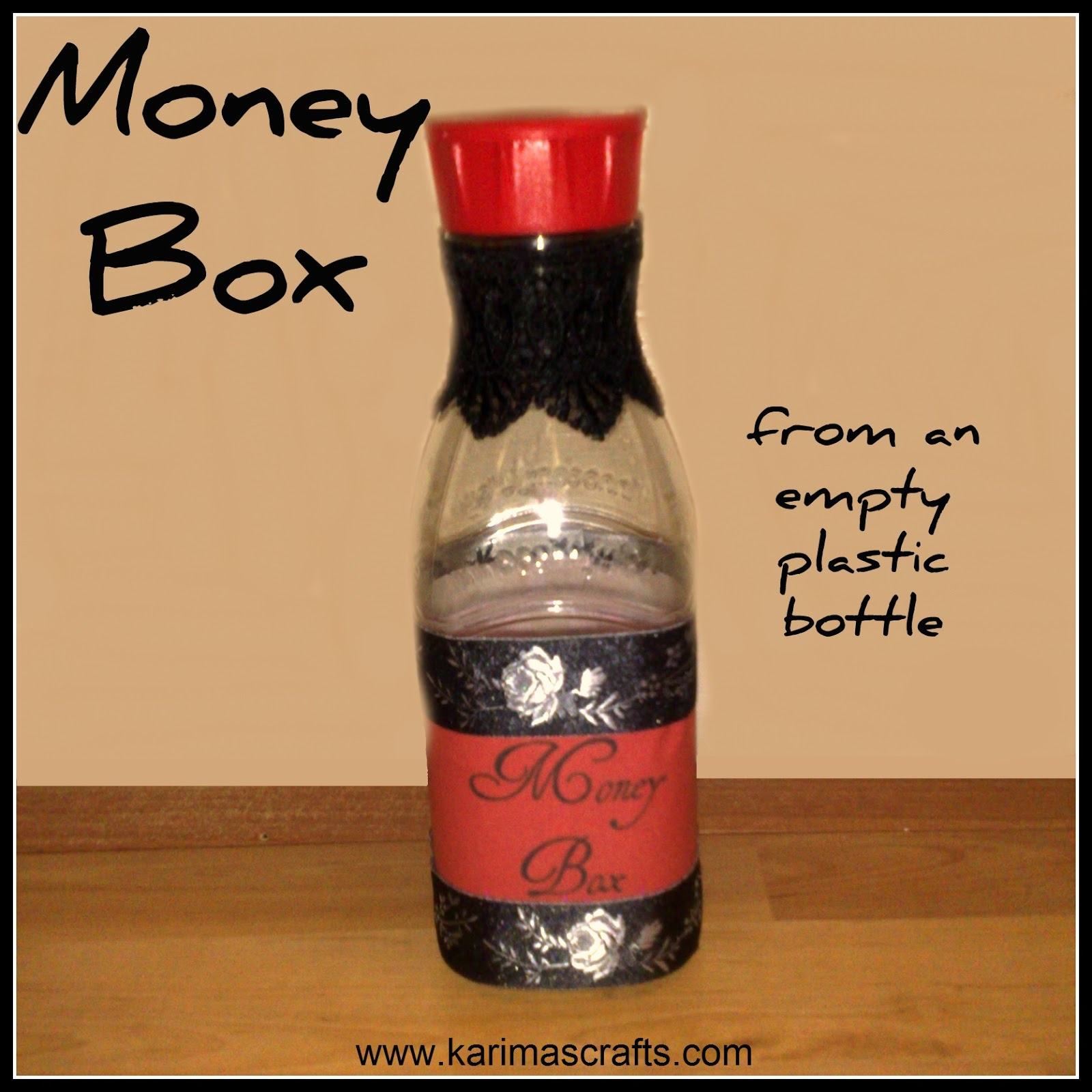 money box plastic bottle upcycle muslim blog