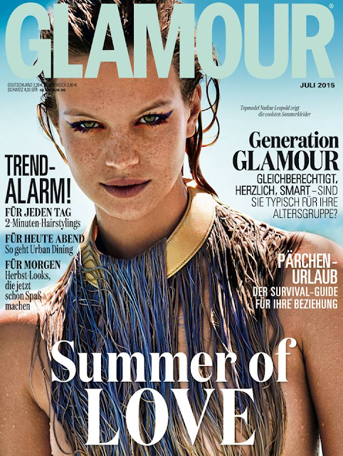 Model @ Nadine Leopold by Enrique Badulescu for Glamour Germany, July 2015