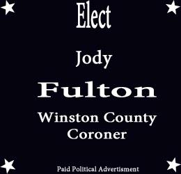 Elect Jody Fulton- Coroner
