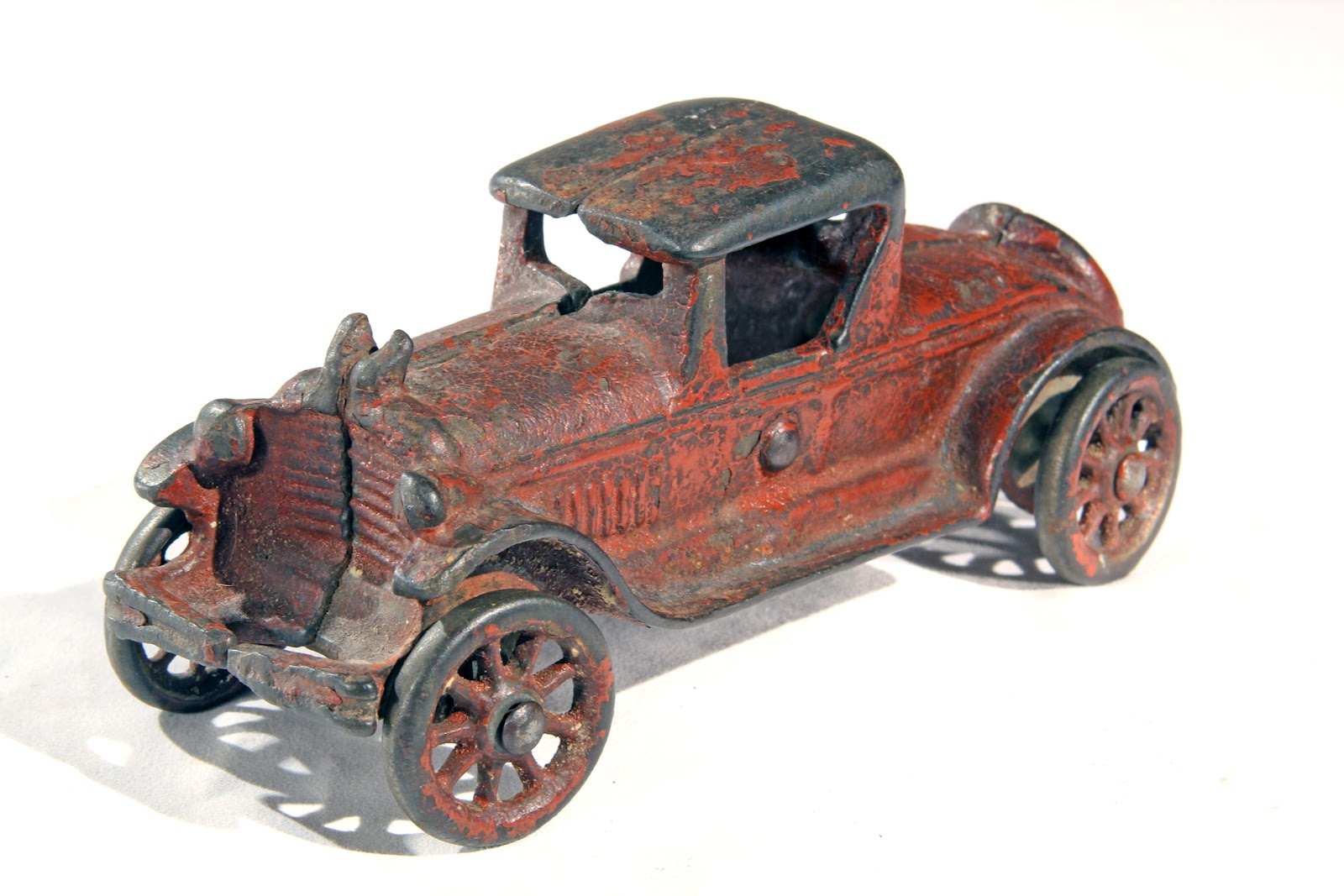 Old Antique Toys: A Pair of A.C.Williams Cast Iron Coupes