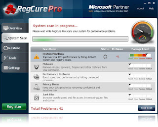 download regcure with crack