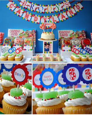 Candyland Birthday Cake on Notti Netti  Contest  The Best Birthday Party Theme Idea  For Netty S