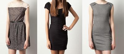 vestidos cortos y elegantes pull and bear 2012