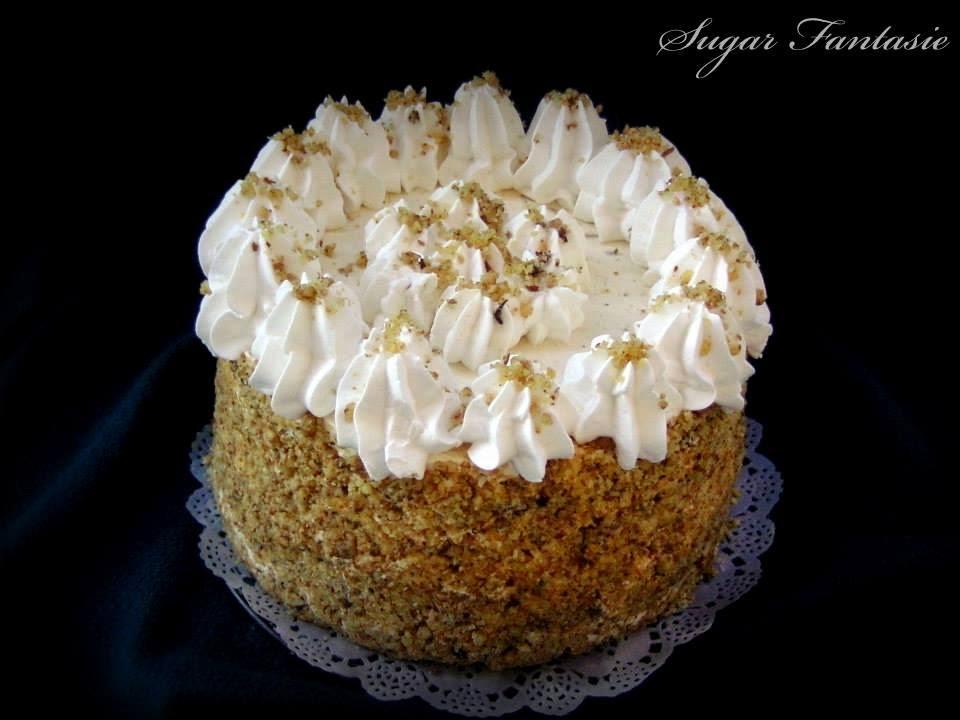 mogyorókrém torta