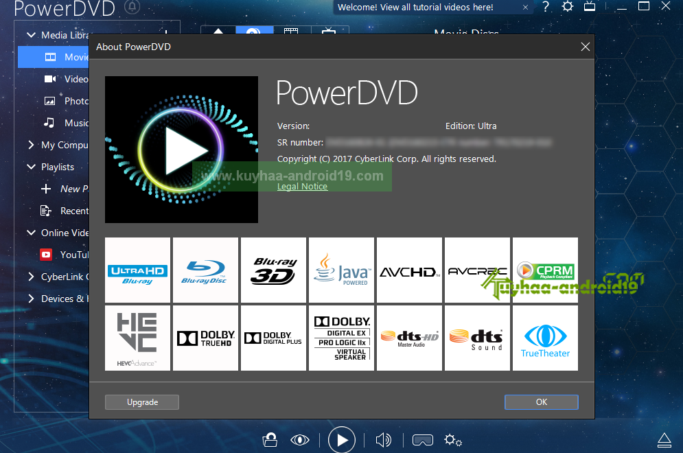 CyberLink PowerDVD Ultra kuyhaa