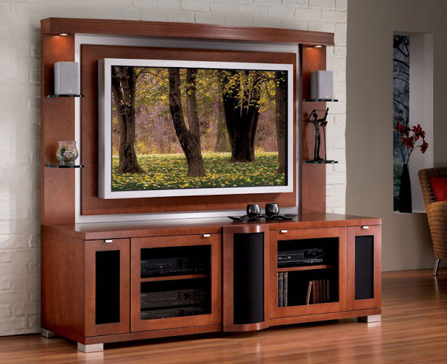 TV Stand Furniture with Storage Photo