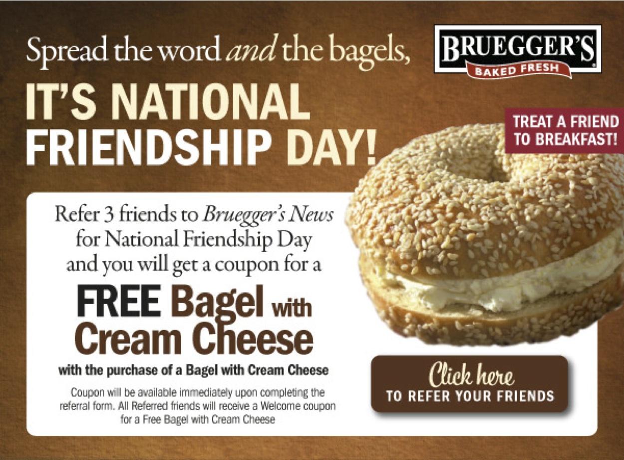 Bruegger's coupons