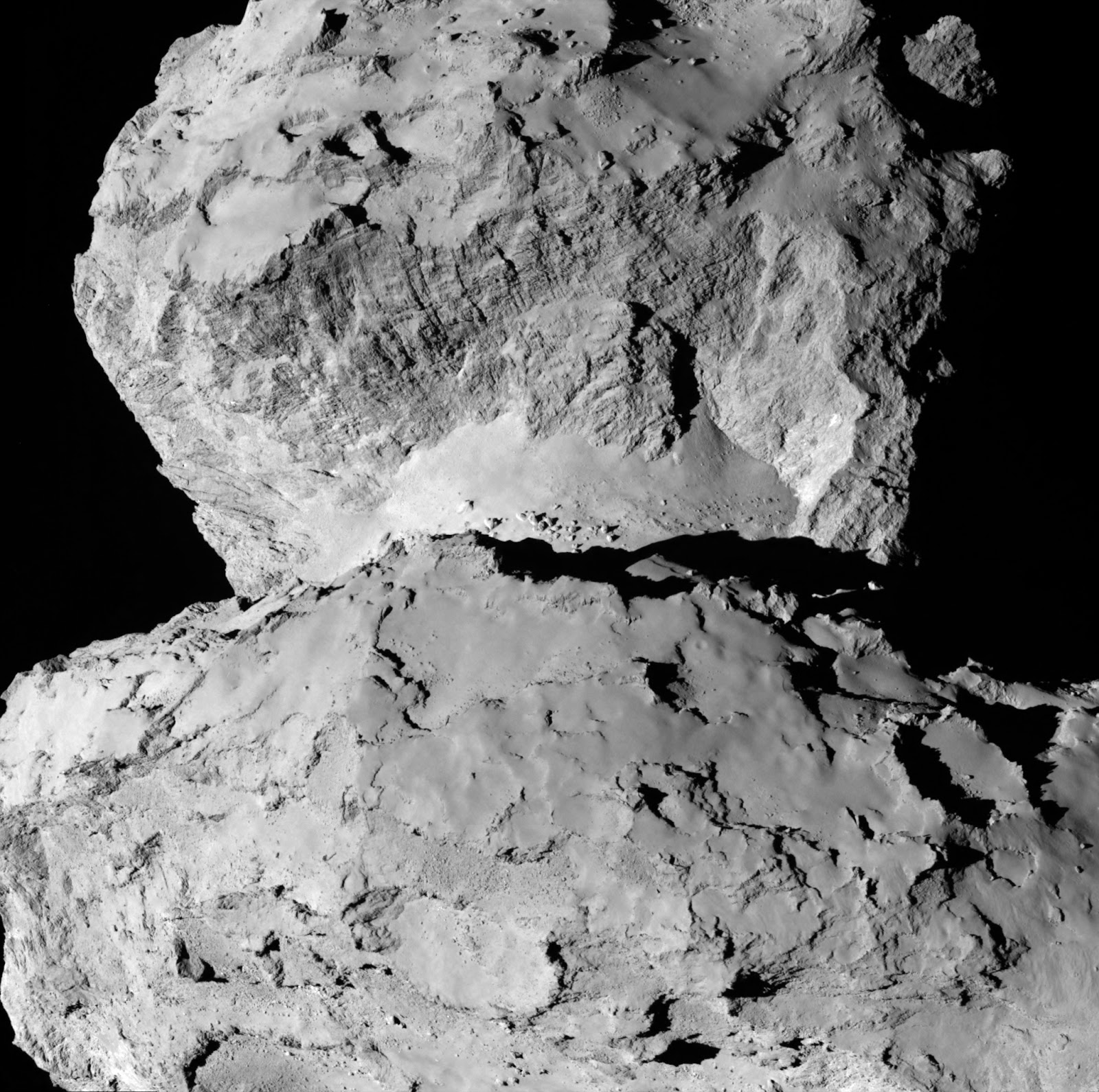 Снимок кометы Чурюмова-Герасименко 7 августа с расстояния 104 километра