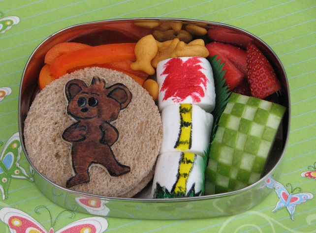 The Lorax Bears http://www.bentoforkidlet.com/2012/02/barbaloot-lorax ...