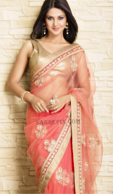 Jennifer-winget-saree-photoshoot-Meena-Bazaar