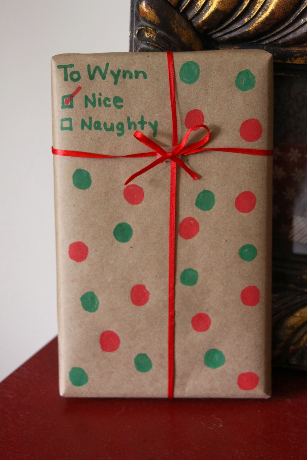 Our pinteresting family diy holiday gift wrap for Paper christmas gifts