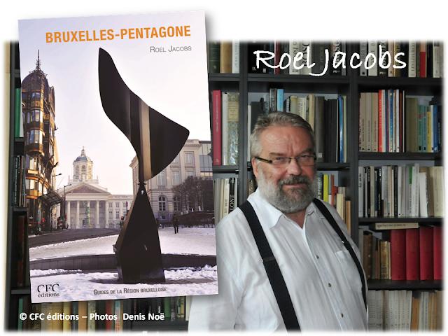 """BRUXELLES-PENTAGONE - Roel Jacobs - CFC éditions - """"Livre en tête"""" conseillé par Bruxelles-Bruxellons"""