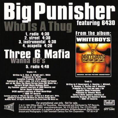 Big Punisher Who Is A Thug (1999)