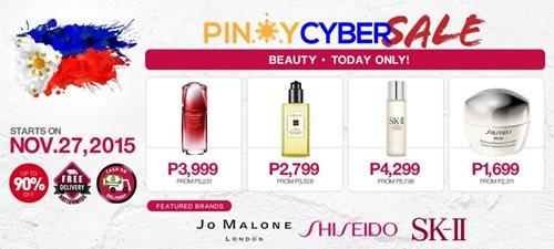 pinoy-cyber-sale ensogo shisheido perfume online-shopping cyber-monday
