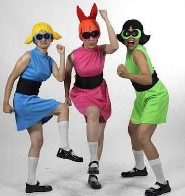 vestir a las chicas super poderosas: