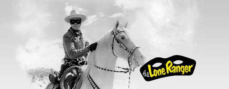 Photo: Clayton Moore on TV. The Lone Ranger Google links...