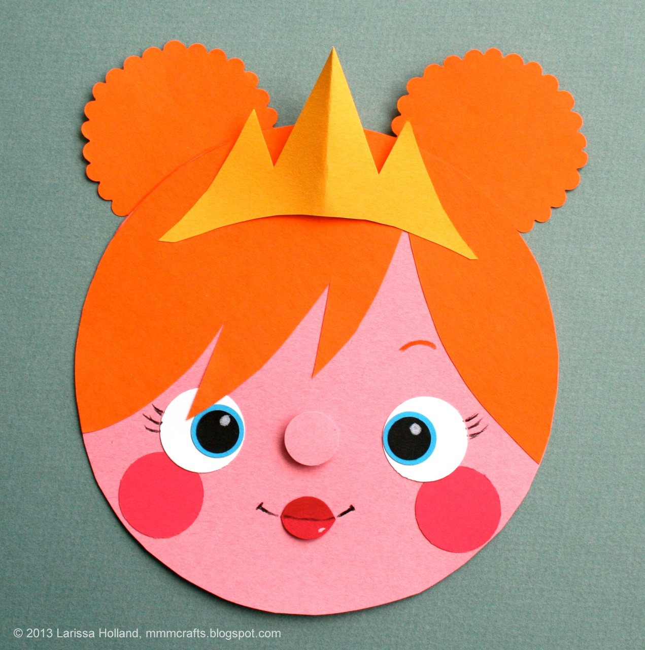 mmmcrafts make a quick princess cardgift tag or a bear or a – Construction Paper Birthday Cards