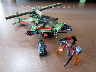 Battleship Legos