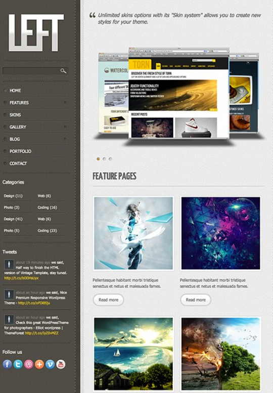 Free HTML5 And CSS3 Templates You Should See