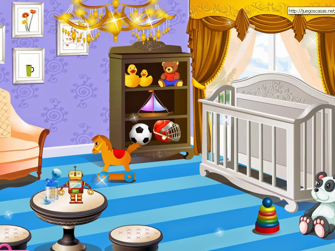 juego decorar habitacion bebe