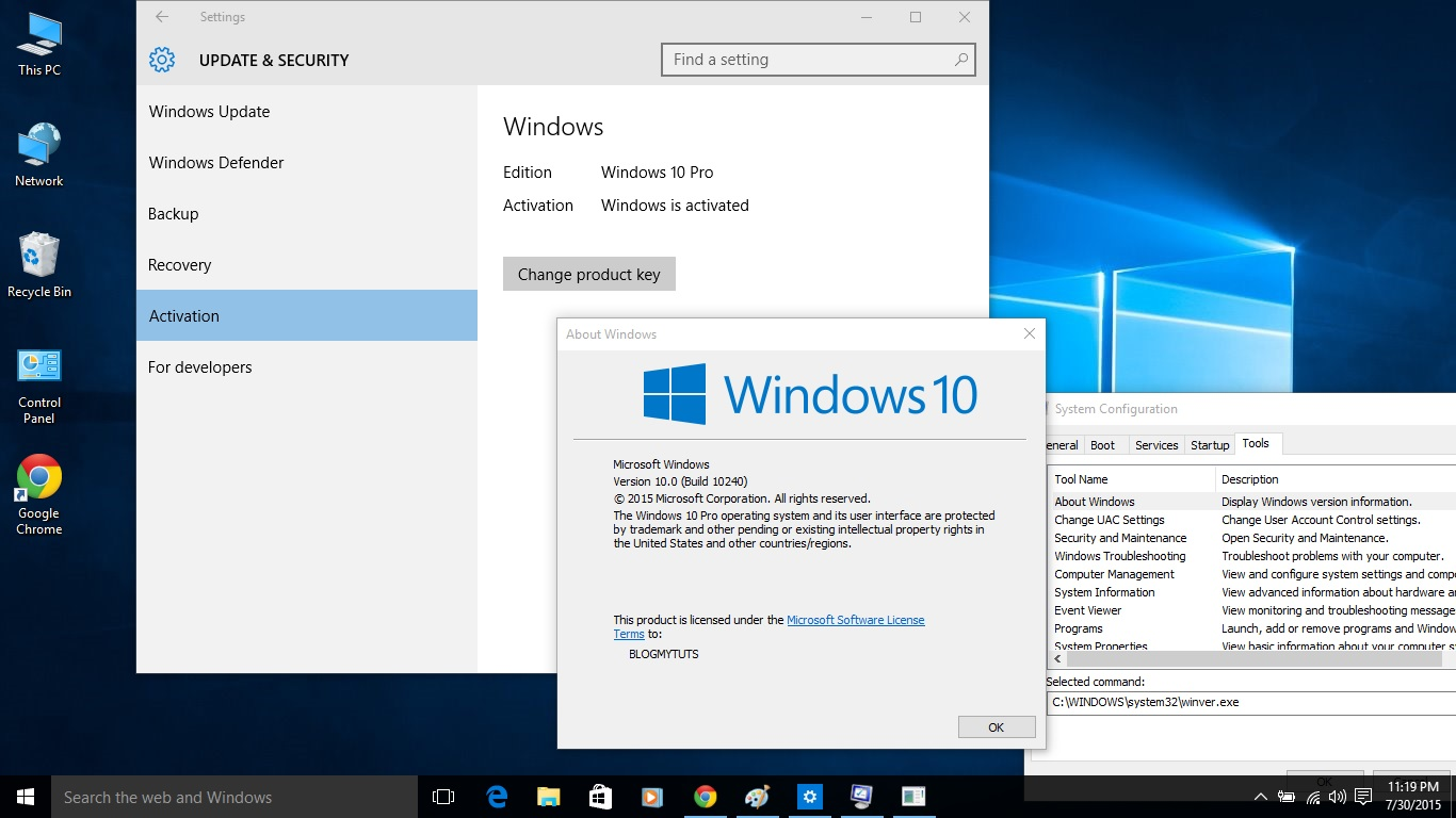 How to install windows 10 with activated status blogmytuts the right method or to do it is via windows upgrade if you install it via clean install reformat you will lost the ability to activate the windows 10 ccuart Image collections