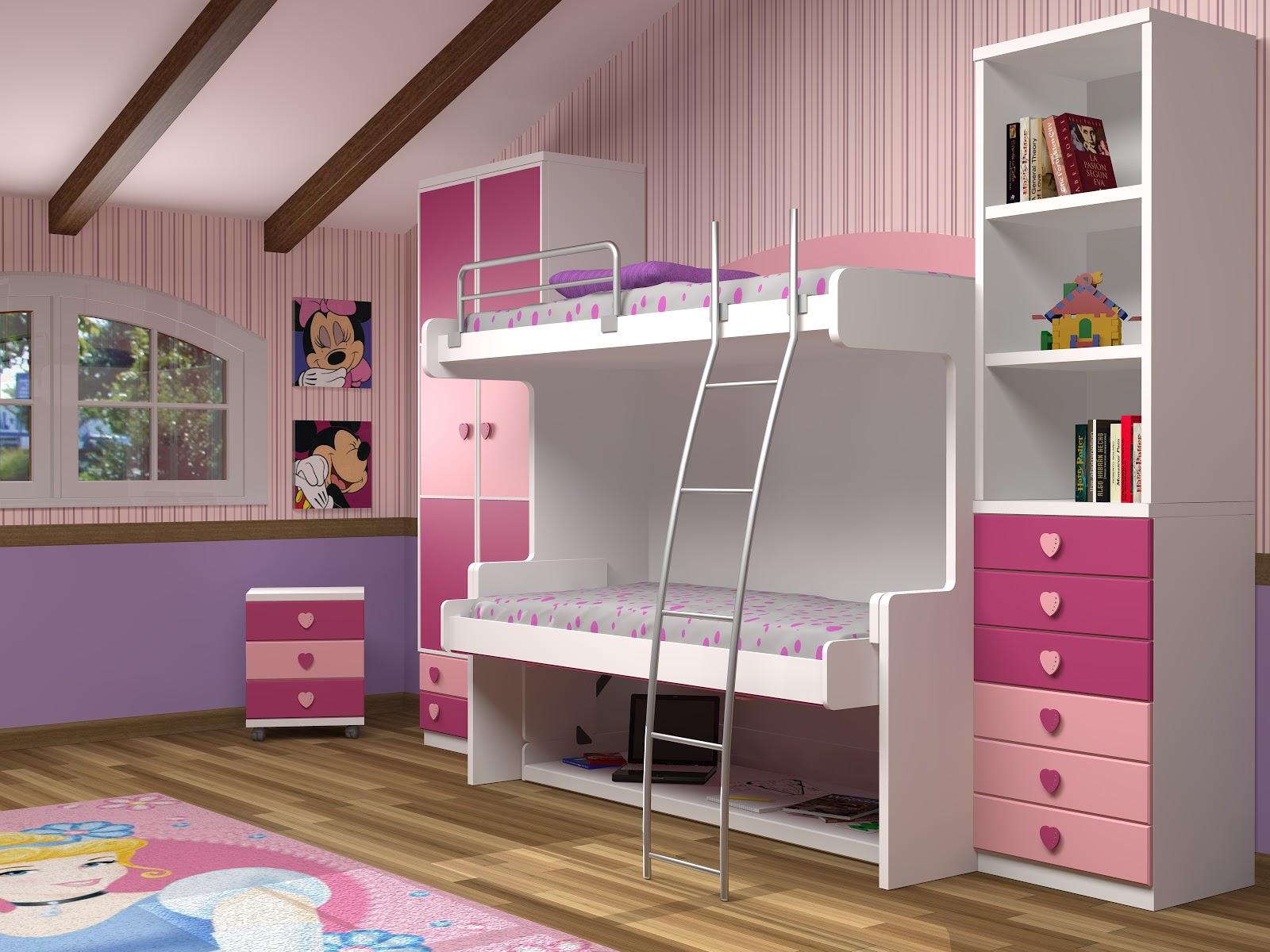 Muebles juveniles dormitorios infantiles y habitaciones for Camas dobles baratas