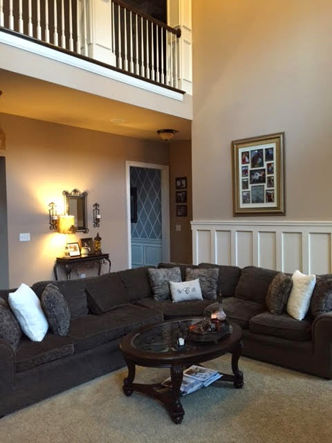 The Gest Of These Updates Would Probably Be That We Moved Our Family Room Furniture Into Sunroom And Purchased A New Large Brown Sectional For