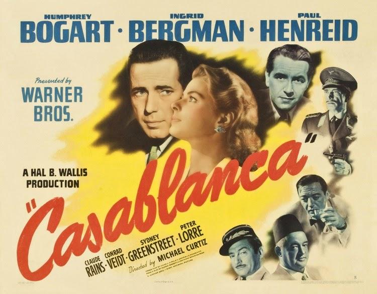 A Vintage Nerd, Vintage Blog, Classic Romance Movies, Classic Film Blog, Old Hollywood Blog, Casablanca