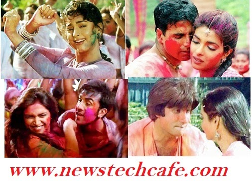 Top Most Popular Bollywood Holi Songs | Top Holi Songs from Movies