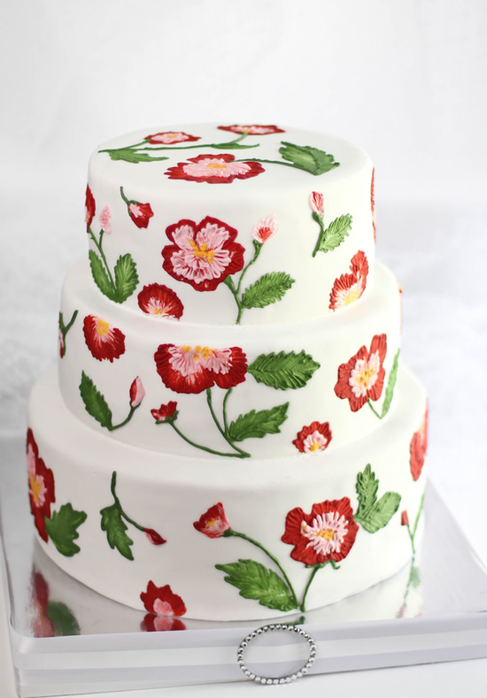 Pretty cake amazing cakes cabbage roses beautiful