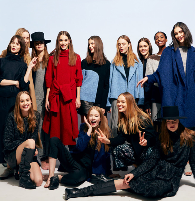 Tibi fall winter 2014-2015 runway crew, behind the scenes