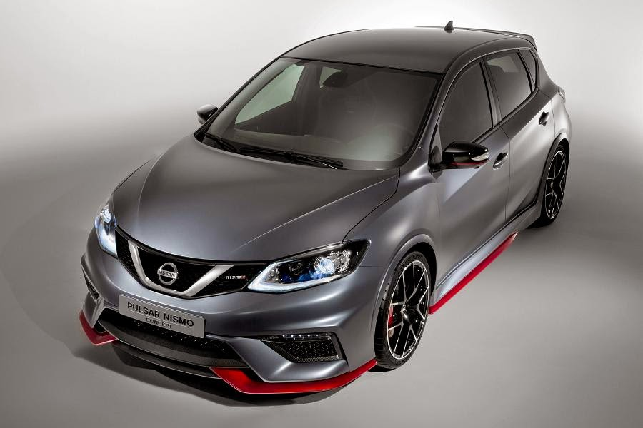 Nissan Pulsar Nismo Concept (2015) Front Side